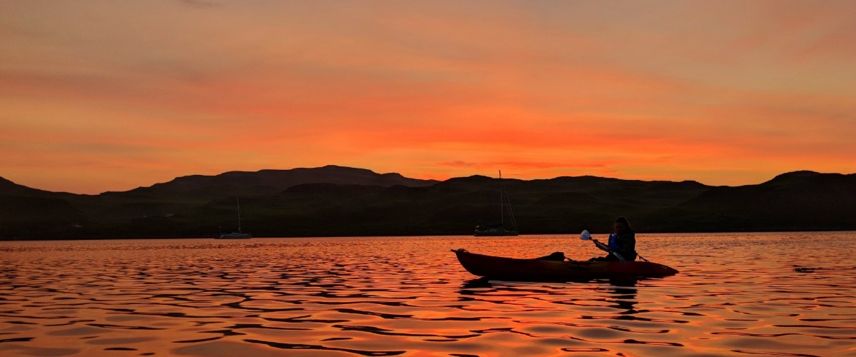Adventure Sailing Holiday In Scotland - Kayaking In The Hebrides