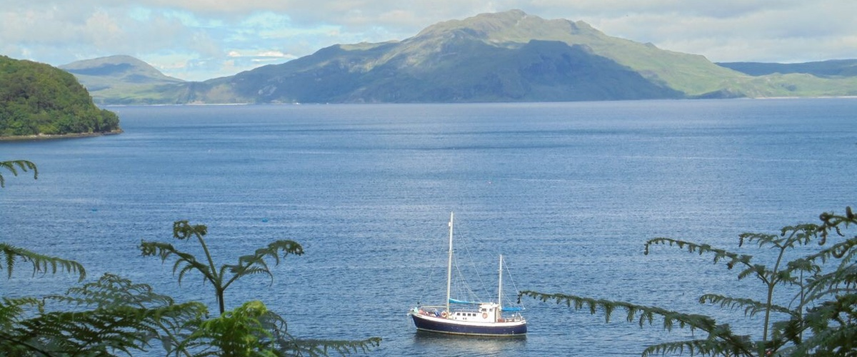 Small Ship Cruises in Scotland