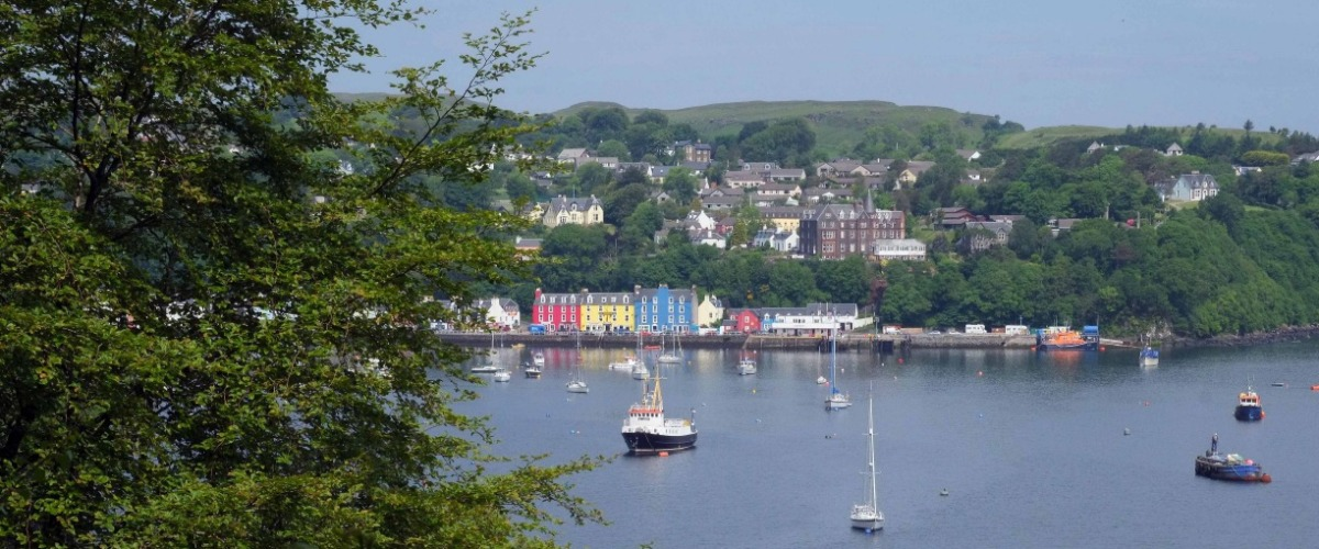 Find Us - Tobermory, Isle of Mull
